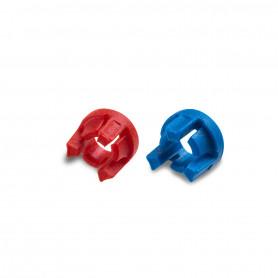 Audifon Halteringe f. Hörer, rot oder blau