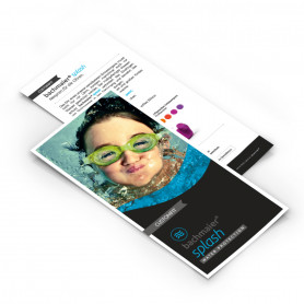 Prospekt/Flyer CUSTOMFIT splash