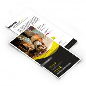 Prospekt/Flyer CUSTOMFIT work