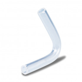 Angle bent 2 x 3 mm M transparent