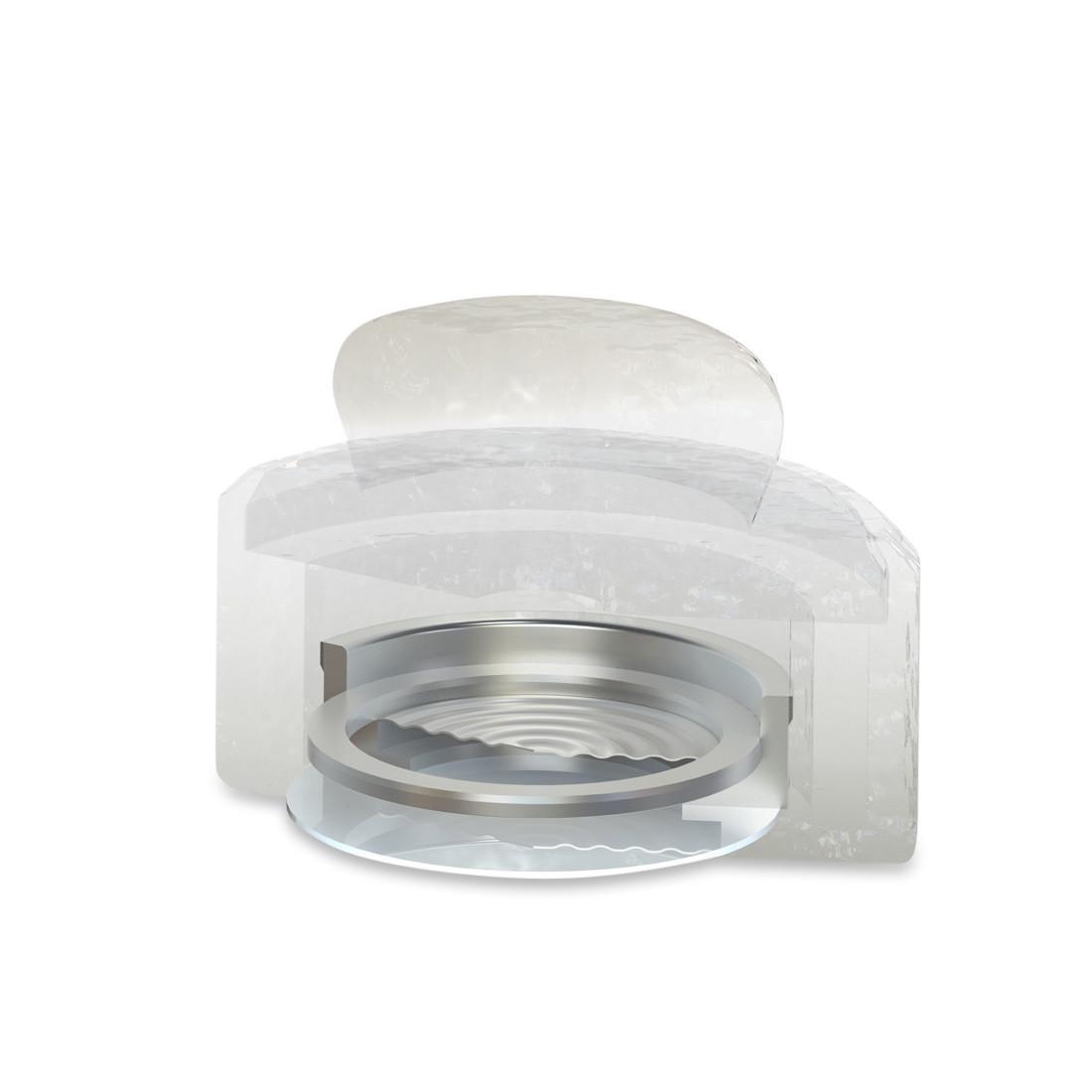 Gehörschutzfilter fidelity b25 - Querschnitt