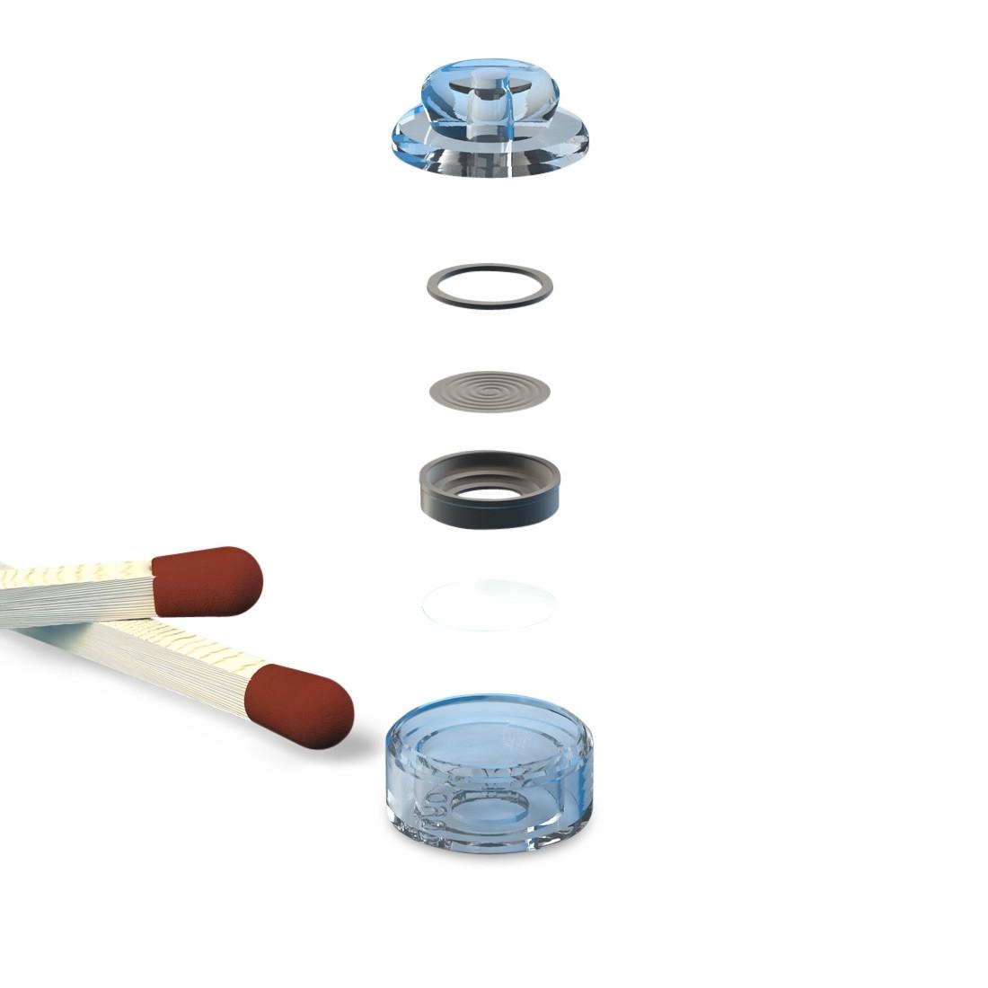 Gehörschutzfilter fidelity b25 - Aufbau