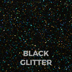hearos Color Black Glitter